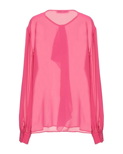 Roberto Cavalli Pink Hemd