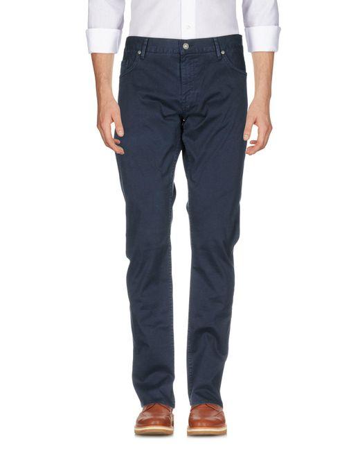 BOSS Green | Blue Casual Trouser for Men | Lyst