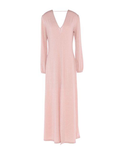 ..,merci Vestido largo de mujer de color rosa