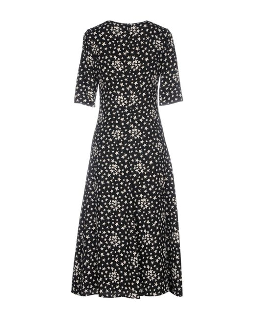 Saint Laurent Black Knee-length Dress
