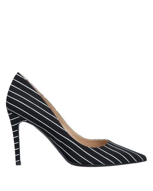 Deimille Zapatos de salón de mujer de color negro