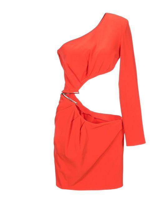 Minivestido Elisabetta Franchi de color Orange