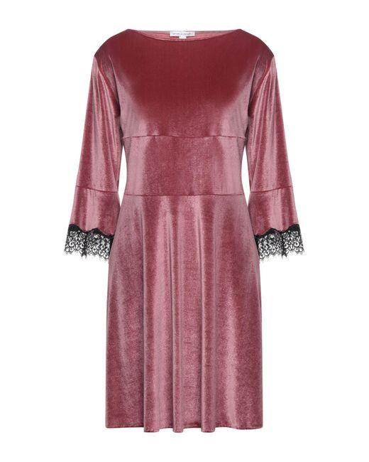 Raffaela D'angelo Pink Kurzes Kleid