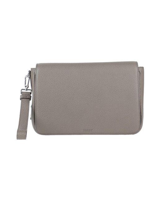 Bally Gray Handbag for men