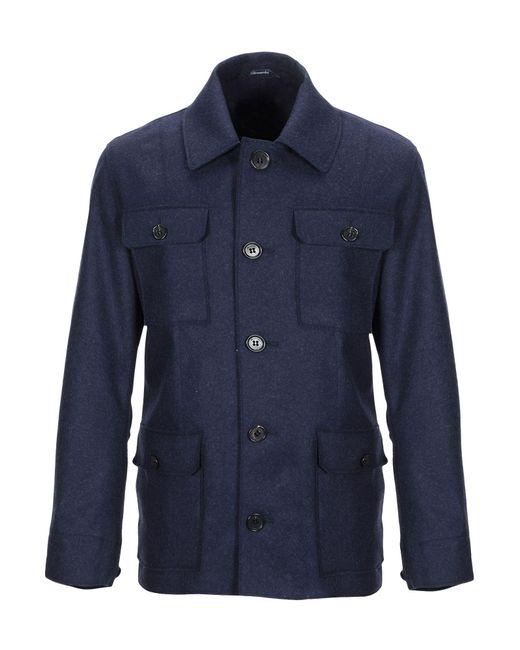 Drumohr Blue Jacket for men
