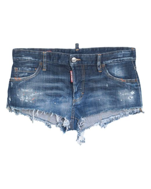 DSquared² Blue Jeansshorts