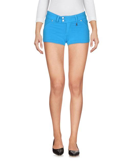 Met - Blue Shorts - Lyst