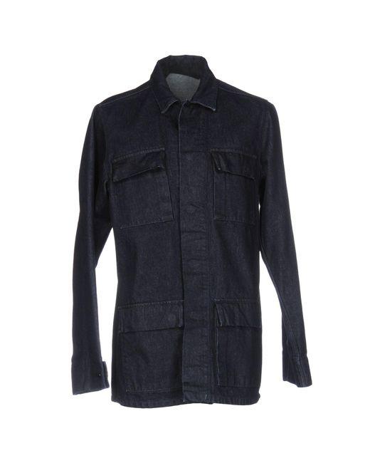 Ring | Blue Denim Outerwear for Men | Lyst