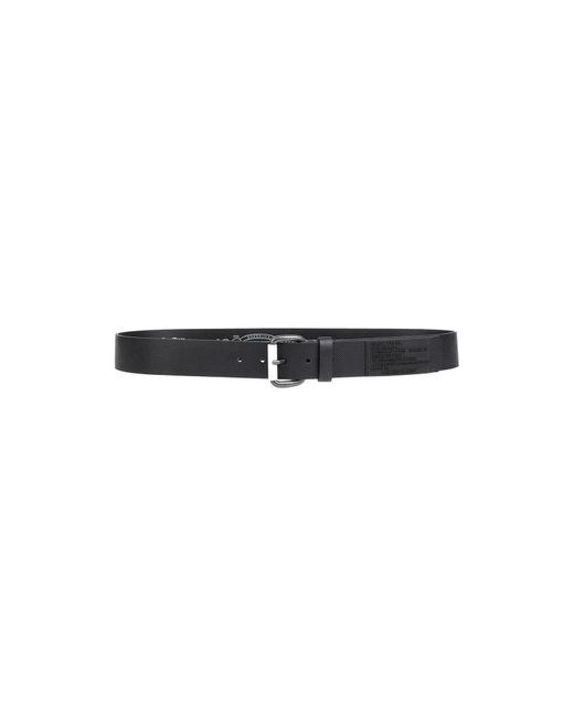 DIESEL Black Belt for men