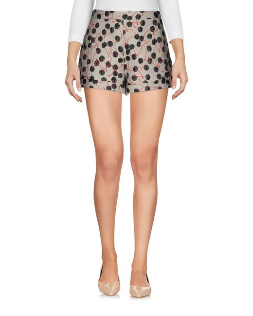 Giamba - Natural Shorts - Lyst