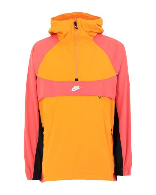 Nike Jacke in Orange für Herren