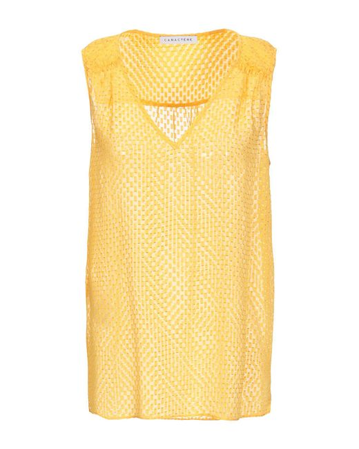 Caractere - Yellow Top - Lyst