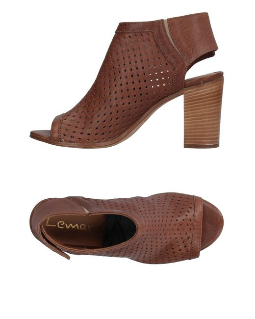 Lemarè | Brown Sandals | Lyst