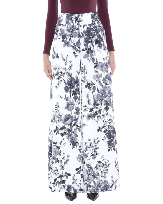 PT01 Pantalones de mujer de color blanco