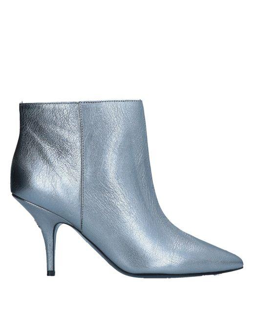 Patrizia Pepe - Metallic Ankle Boots - Lyst