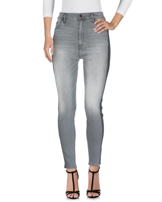 Mother Gray Jeanshose