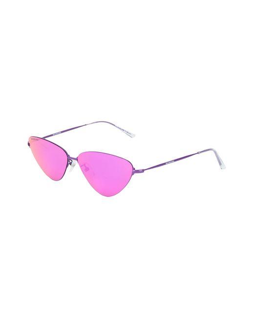 Occhiali da sole di Balenciaga in Purple