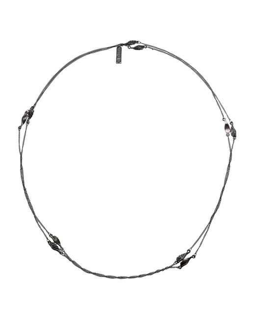 FEDERICA TOSI - Black Necklace - Lyst