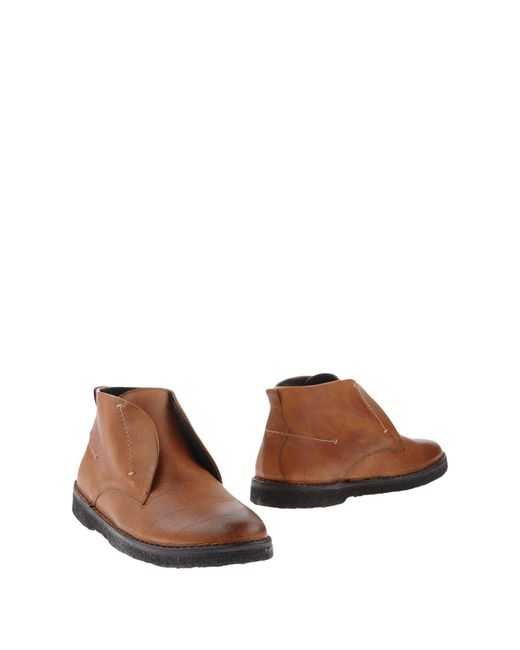 Boemos | Brown Ankle Boots for Men | Lyst