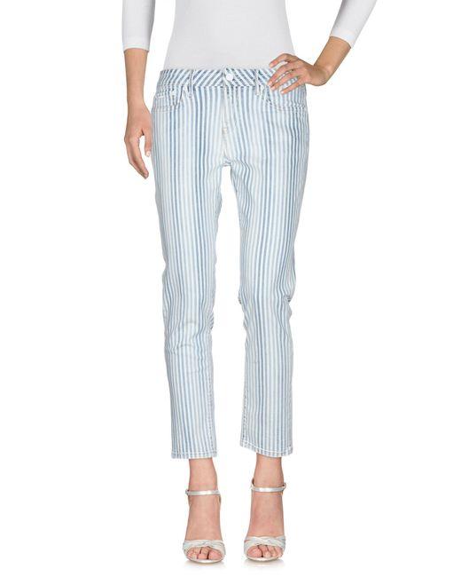 Pepe Jeans Pantalon en jean femme de coloris bleu