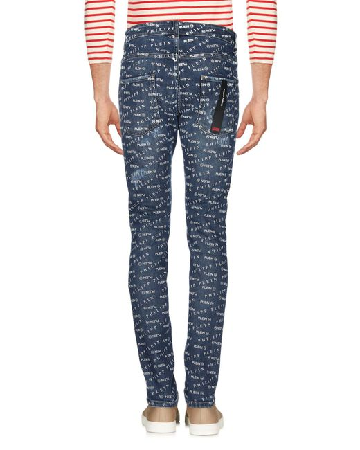 Pantalon en jean Philipp Plein pour homme en coloris Blue