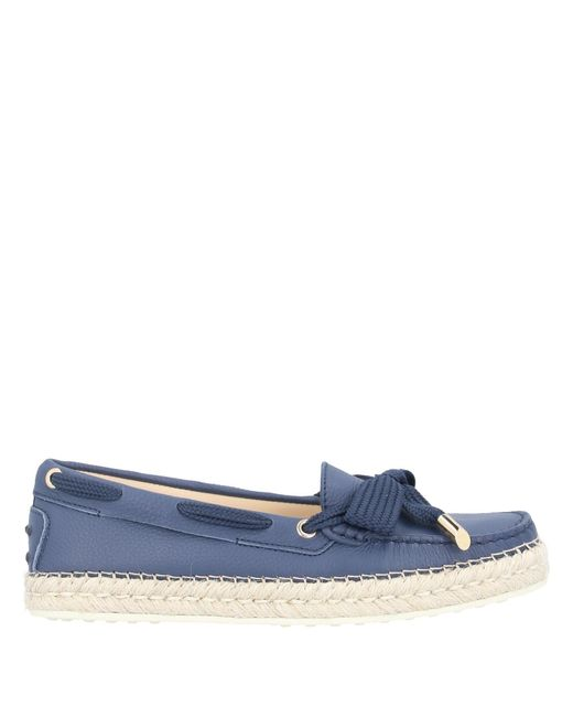 Mocassins Tod's en coloris Blue
