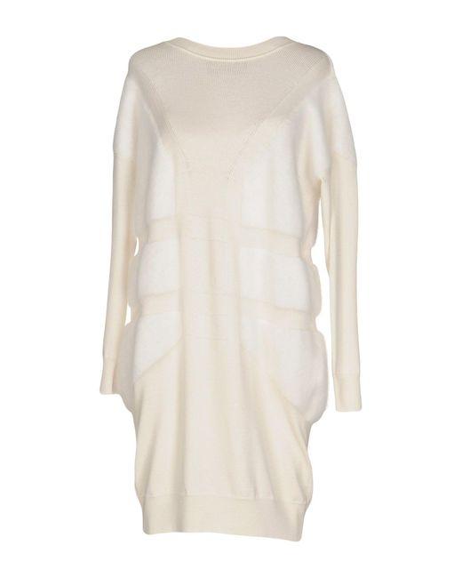 Antonino Valenti | White Short Dress | Lyst