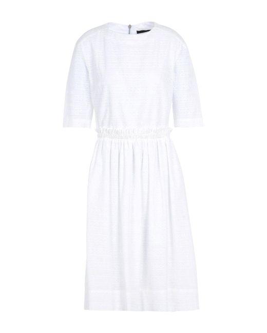 Vivienne Westwood Anglomania White Knee-length Dress