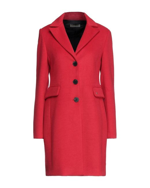 Abrigo Please de color Red