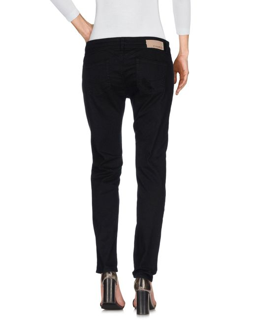 Pinko Black Denim Pants