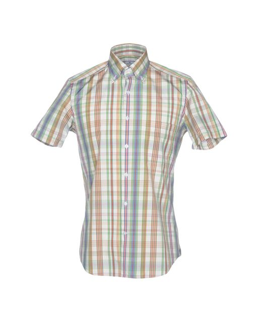 Sonrisa - Green Shirts for Men - Lyst