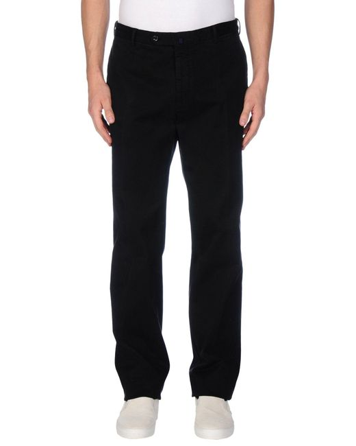 Incotex - Black Casual Pants for Men - Lyst