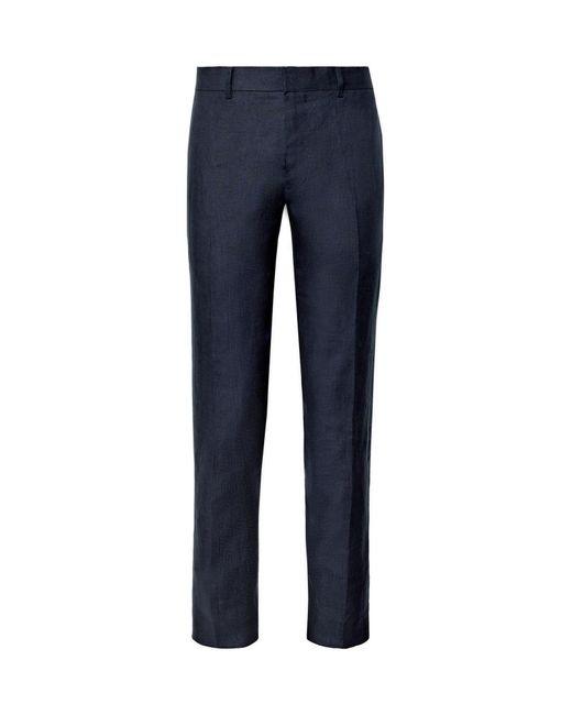 Pantalone di Club Monaco in Blue da Uomo