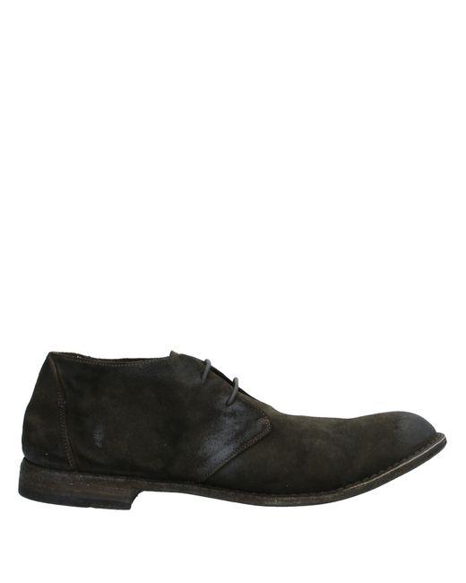 Pantanetti Schnürschuh in Black für Herren