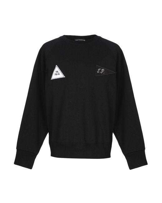 Gosha Rubchinskiy Black Sweatshirt for men