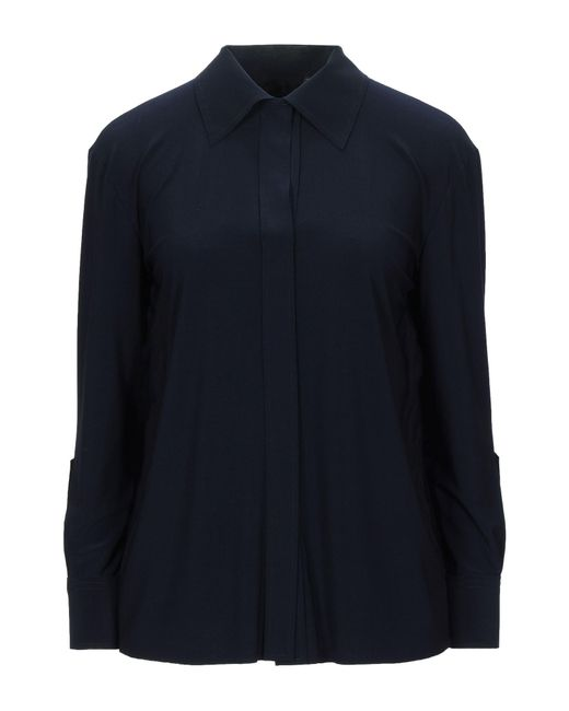 Blusa di Norma Kamali in Blue
