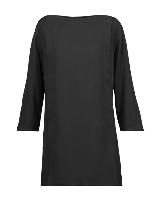 Halston Heritage Black Short Dress