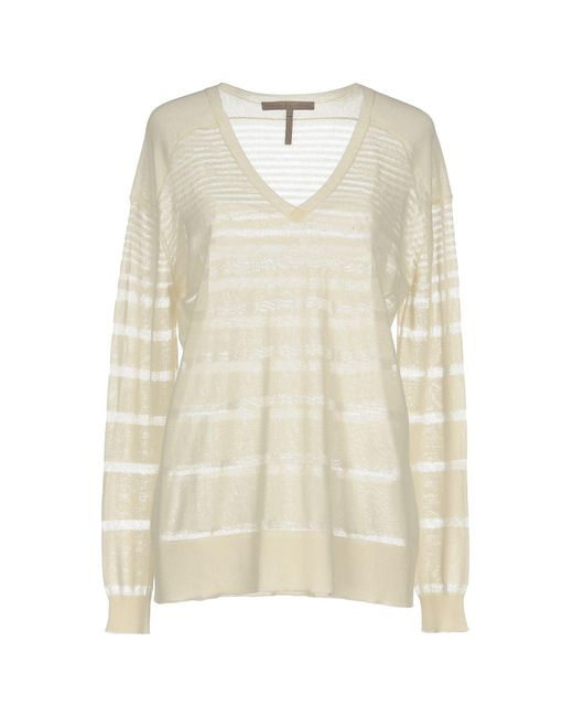 Halston Heritage White Sweater