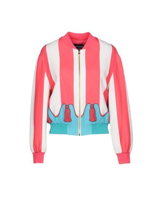 Boutique Moschino - Multicolor Jacket - Lyst