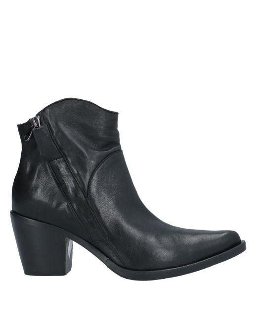 Mally Botines de caña alta de mujer de color negro