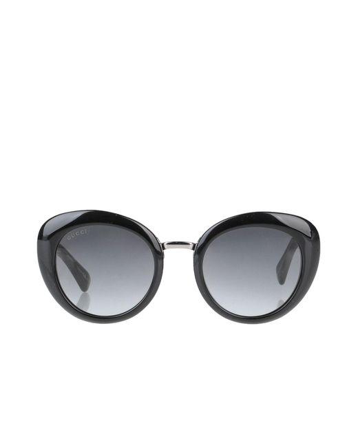 Lunettes de soleil Gucci en coloris Black