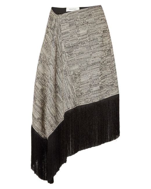 Marques'Almeida White 3/4 Length Skirt