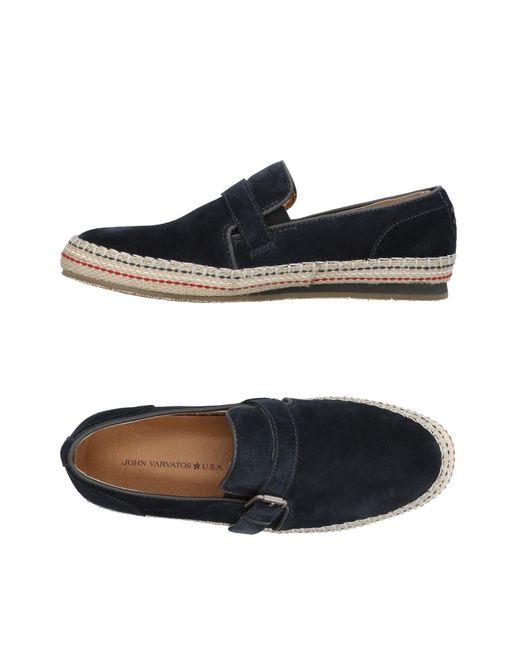 3dd4cdd35c3 John Varvatos - Blue Loafer for Men - Lyst ...