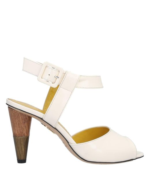Charlotte Olympia White Sandals