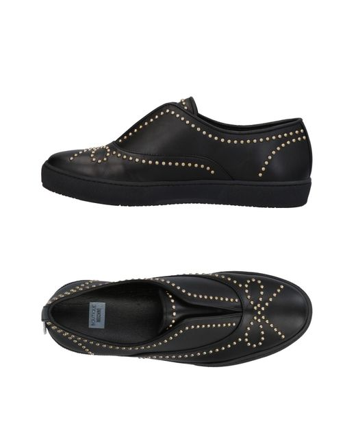 Boutique Moschino - Black Low-tops & Sneakers - Lyst