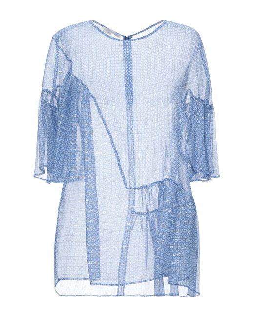 Blusa Stella McCartney de color Blue