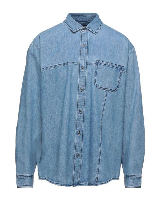 True Religion Blue Denim Shirt for men