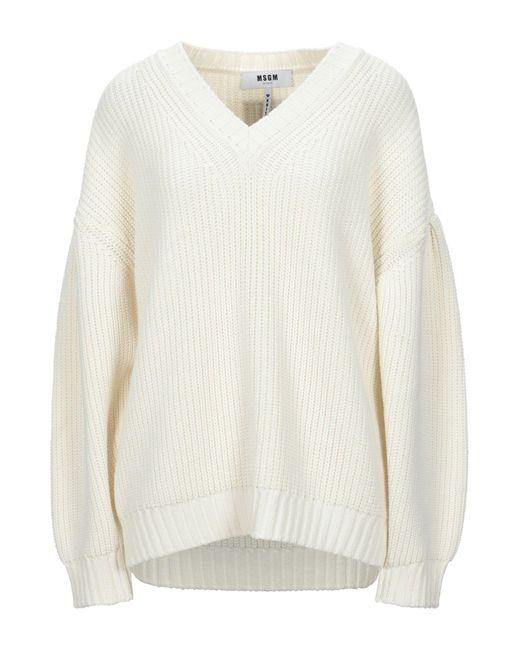 Pullover di MSGM in White