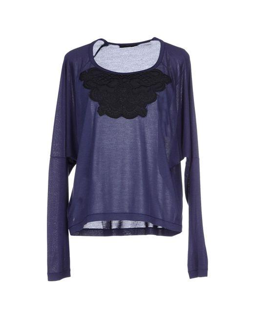 Pinko | Blue T-shirt | Lyst