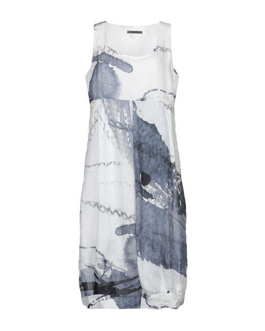 Crea Concept - White 3/4 Length Dress - Lyst